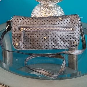 LP by LINEA PELLE Perforated Crossbody Purse